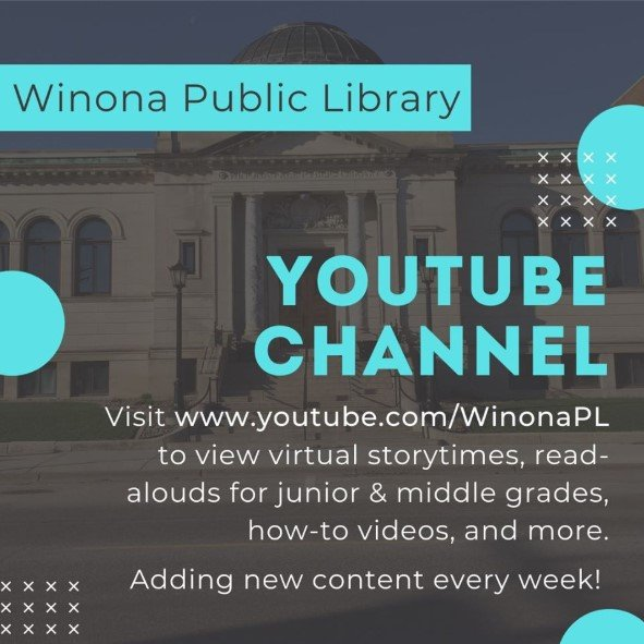 Youtube Channel for Winona Public Library